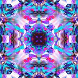Fractale de batik dans la répétition Photographie stock libre de droits