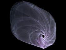 Fractale de galaxie Images stock