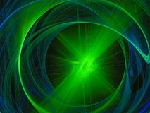 Fractale numérique brillante d'élément abstrait, bel avenir de conception de courbe de disco de flamme foncée de disco illustration libre de droits
