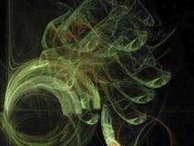 Fractale rêveuse moderne de couverture de chaos de Digital de modèle unique abstrait de texture, festival magique de conception,  illustration libre de droits
