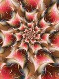 Fractale Rose Design Image libre de droits