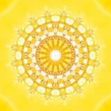 Fractale Sun illustration libre de droits