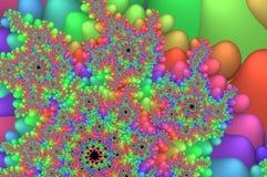 Fractales coloridos Foto de archivo libre de regalías