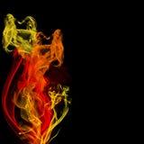 fractales de firey image stock