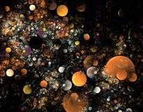 Fractales de la burbuja Foto de archivo