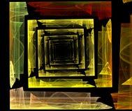 fractalgeometri Arkivfoton