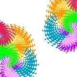 Fractalgestaltungselement vektor abbildung