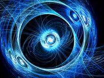 Fractalhintergrund - erzeugtes Bild der Zusammenfassung digital Lizenzfreies Stockfoto