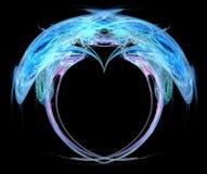 fractalhjärta Arkivfoton
