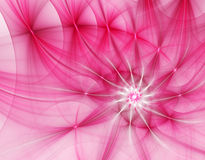 fractalillustration för abstrakt begrepp 3d för idérikt Royaltyfri Foto