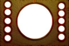 Fractalius cirklar fotografering för bildbyråer