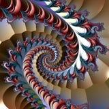 Fractalkonstverk vektor illustrationer
