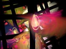 Fractalmuster Stockbild