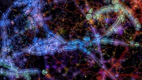 Fractalorganism 0170 Fotografering för Bildbyråer