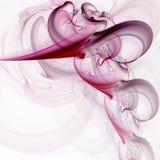 fractalrökvirvel stock illustrationer
