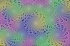 Fractals in kleurrijke Photoshop Stock Foto