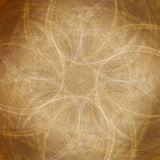 Fractals skyler över brister bakgrund Royaltyfri Foto