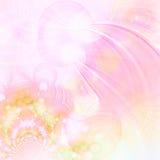 Fractals van de pastelkleur Stock Afbeelding