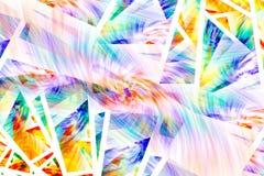 Fractals zijn oneindig complexe patronen die over verschillende schalen self-similar zijn vector illustratie