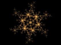 fractalsnowflake Arkivfoton