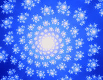 fractalspiral Royaltyfria Foton
