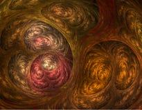 fractalswirl Royaltyfria Bilder