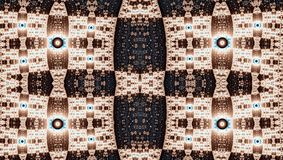 Fractalsymmetriemuster (Julia stellte) ein Stockfoto