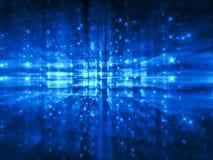 Fractalunschärfe - erzeugtes Bild der Zusammenfassung digital Stockbild