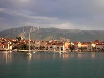 Fractionnement, Croatie Image libre de droits