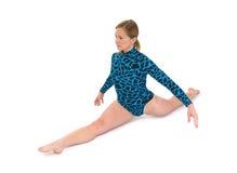 Fractionnement de gymnaste photo stock