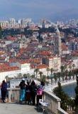 Fractionnement ; La Croatie Images libres de droits