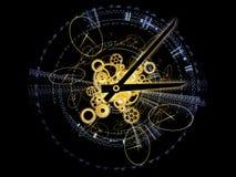 Fractions de temps Image stock