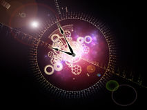 Fractions Of Time Stock Image
