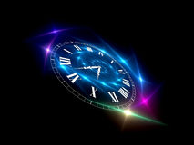 Fractions of Time stock illustration