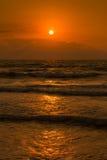 Fractura de amanecer Fotografía de archivo libre de regalías