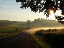 Fractura de amanecer Fotografía de archivo