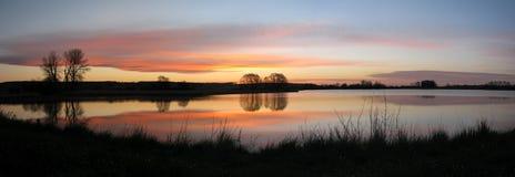 Fractura de amanecer Imagen de archivo libre de regalías