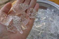 Fractura de cristal espontánea Imagenes de archivo