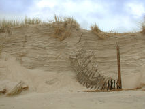 Fractura de la duna Foto de archivo