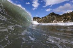 Fractura de la onda Imagenes de archivo
