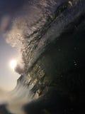 Fractura de la onda Fotografía de archivo libre de regalías