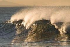 Fractura de la onda Foto de archivo libre de regalías