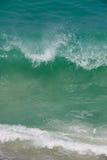 Fractura de la onda de océano Fotografía de archivo