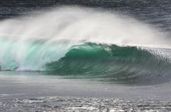 Fractura de la onda del irlandés Imagenes de archivo
