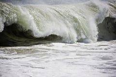 Fractura de las ondas Imagenes de archivo
