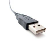 Fractura del varón del USB Fotos de archivo libres de regalías