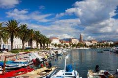Fractura en Croatia Fotos de archivo