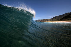 Fractura escénica de la onda Fotografía de archivo libre de regalías