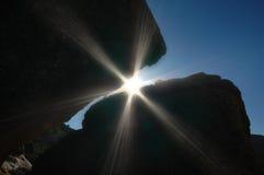 ¡Fractura a través! Foto de archivo libre de regalías