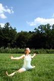 Fracturas de la yoga Fotografía de archivo